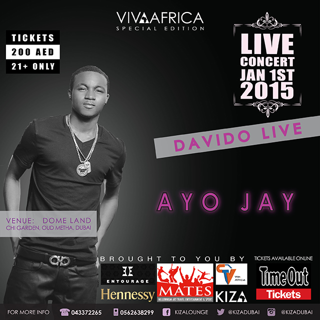 Viva Africa Concert Davido Live In Dubai For New Year